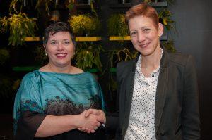 Miriam Notten en Helma van den Berg