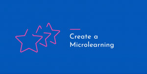 training create a microlearning