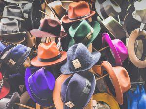 Welke hoed heb jij op?