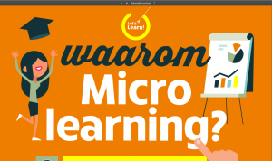 infographic waarom microlearning