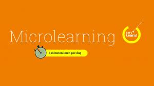 LetsLearn Wat je moet weten over microlearning