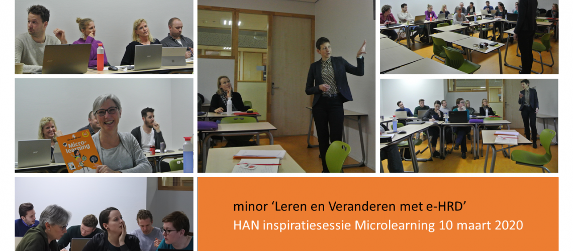 inspiratiesessie Microlearning
