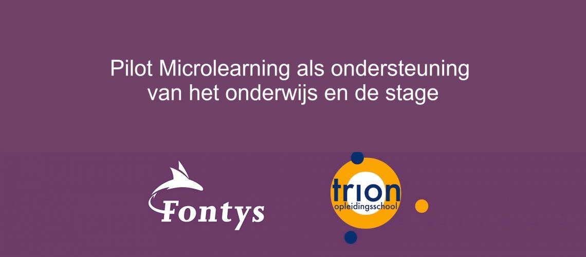 pilot FLOT en TRION microlearning